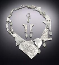 Hebrides Heart Shield with Prasiolite