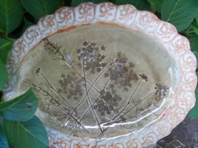 Queen Anne's Lace Platter