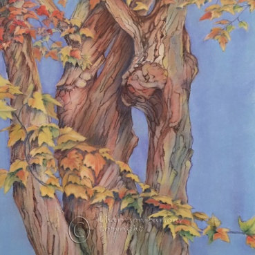 Seasons Tree — pastel