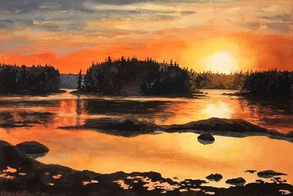 Good Morning, Deer Isle, Maine