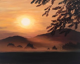 Warm Mist Rise, Nimrod, Virginia