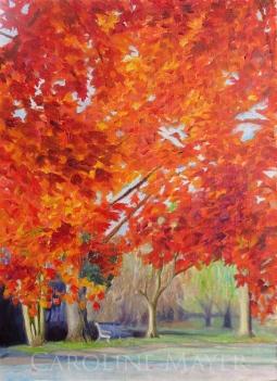 """""""Red Trees, Baker Park"""""""