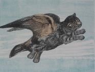 """Fish or Fowl Series #4 Catbird"""